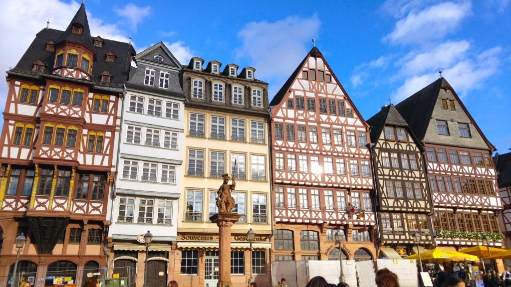 cosa vedere a Francoforte Römerberg