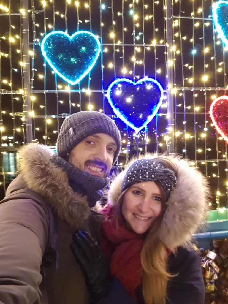 Mercatini di Natale Breslavia ponte innamorati