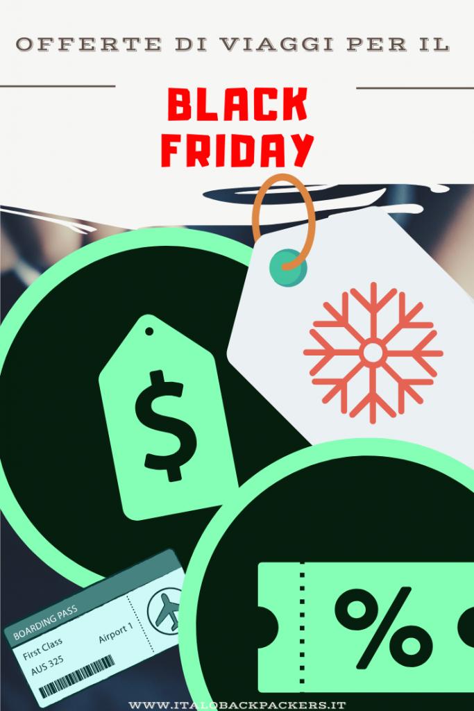offerte di viaggio Black Friday