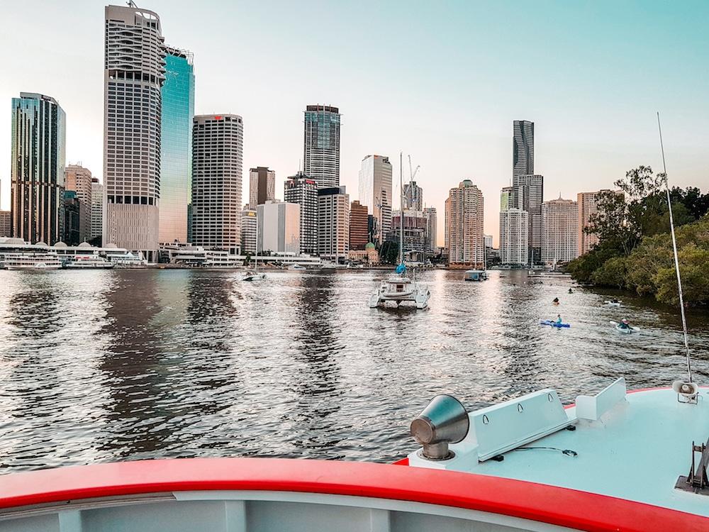 vista city hopper Brisbane fiume