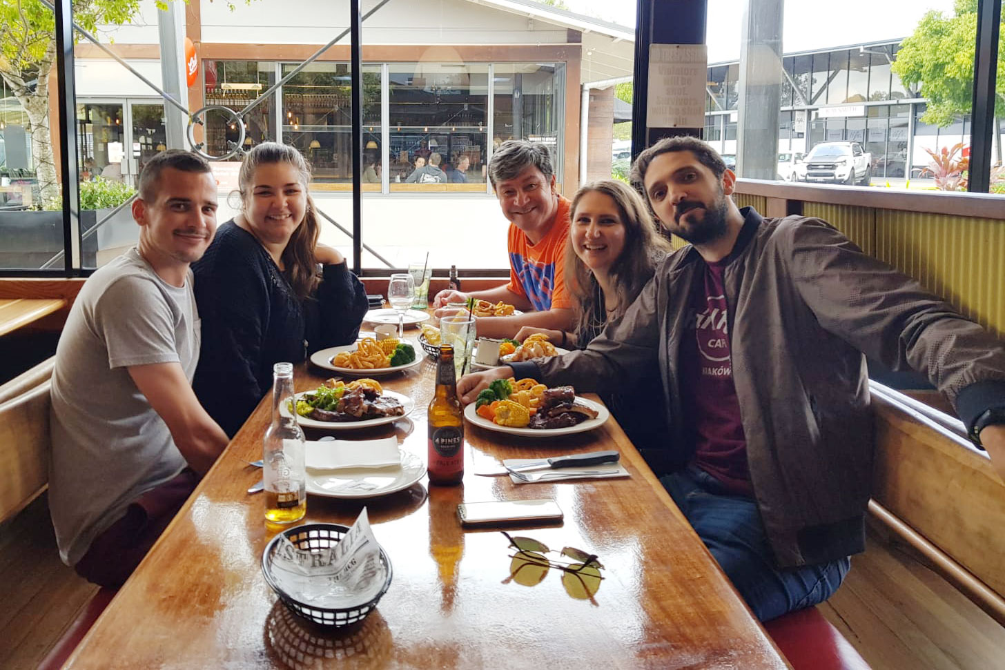 adottati famiglia australiana italobackpackers