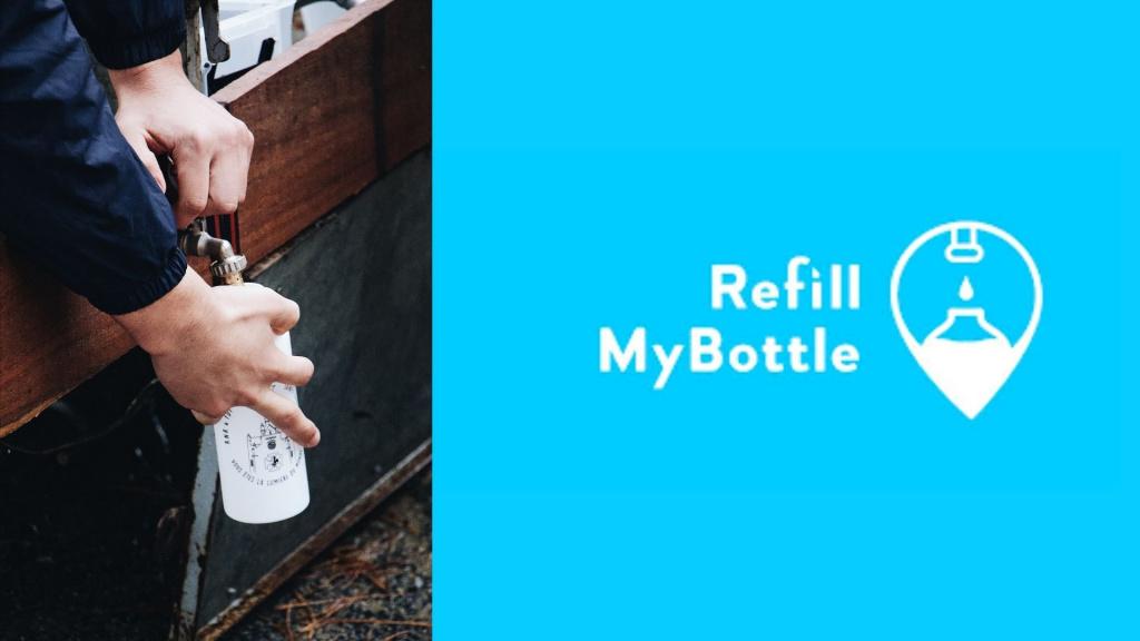 migliori app PER viaggiare refill my bottle